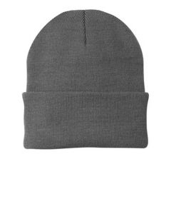 Embroidered - Folded Knit Cap.  CP90