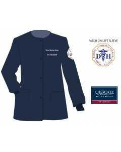 Men's Cherokee Workwear Professionals Snap Front Warm-up Jacket