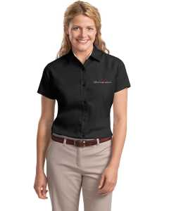 Embroidered Ladies S/S Easy Care  Shirt